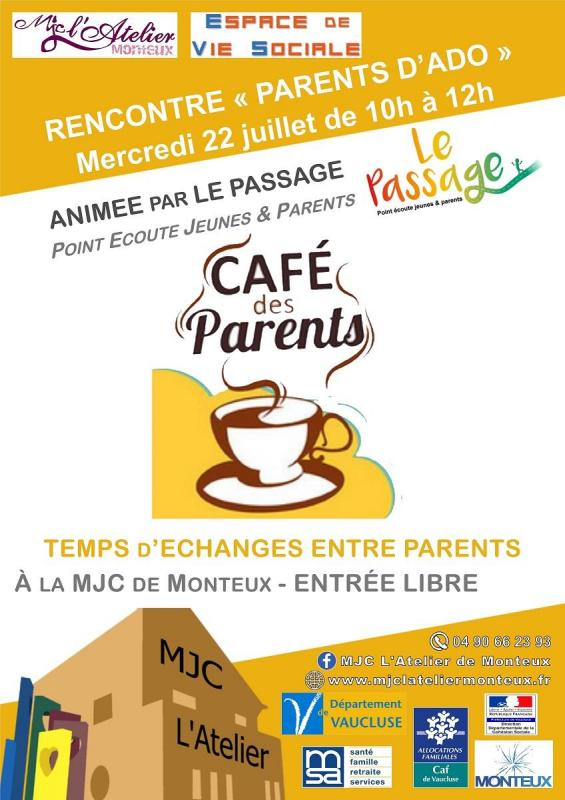 Cafe parents ados