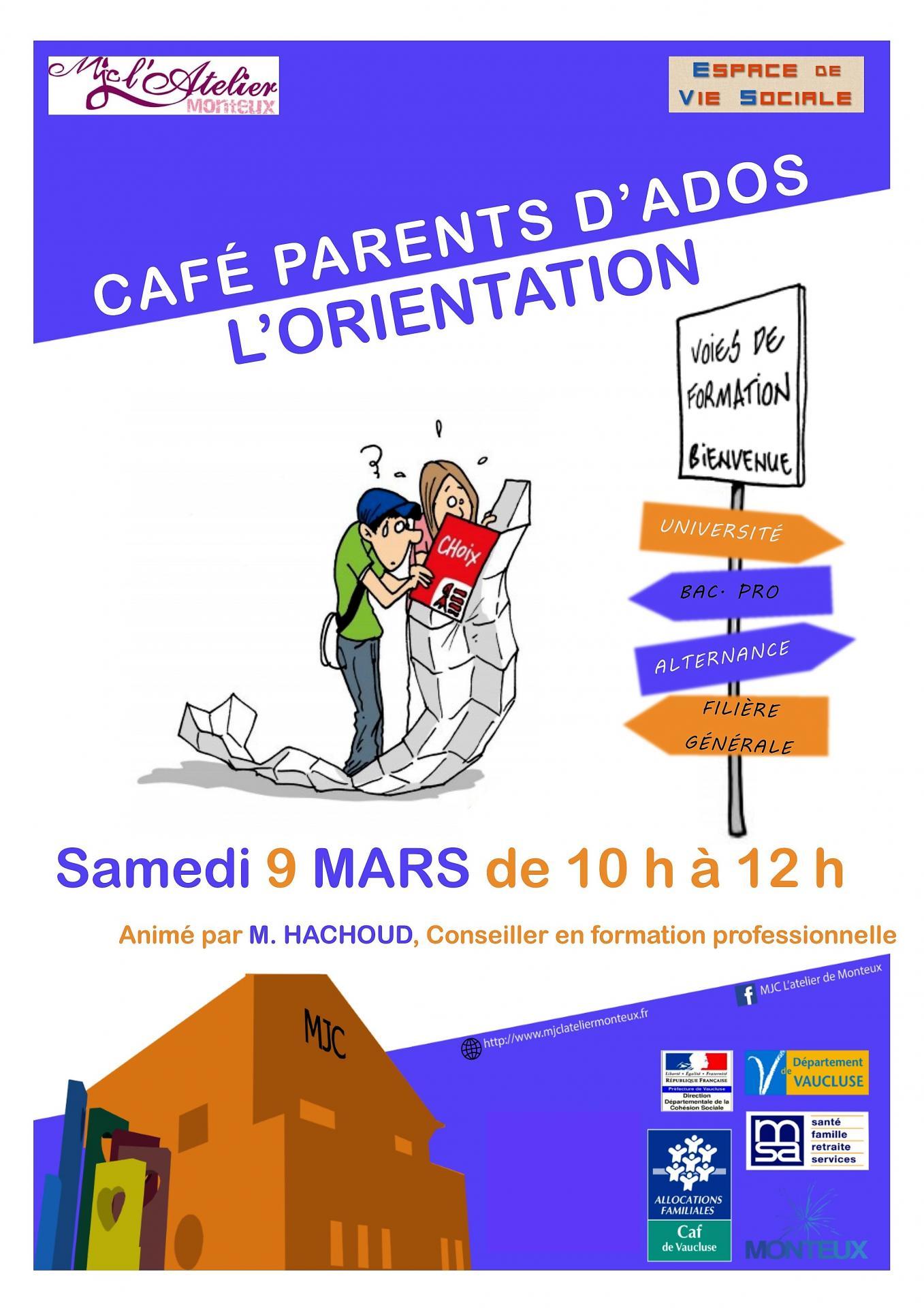 Cafe parents orientation