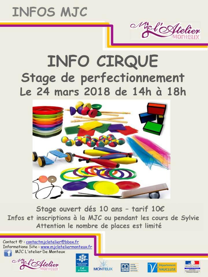 Stage cirque 24 03